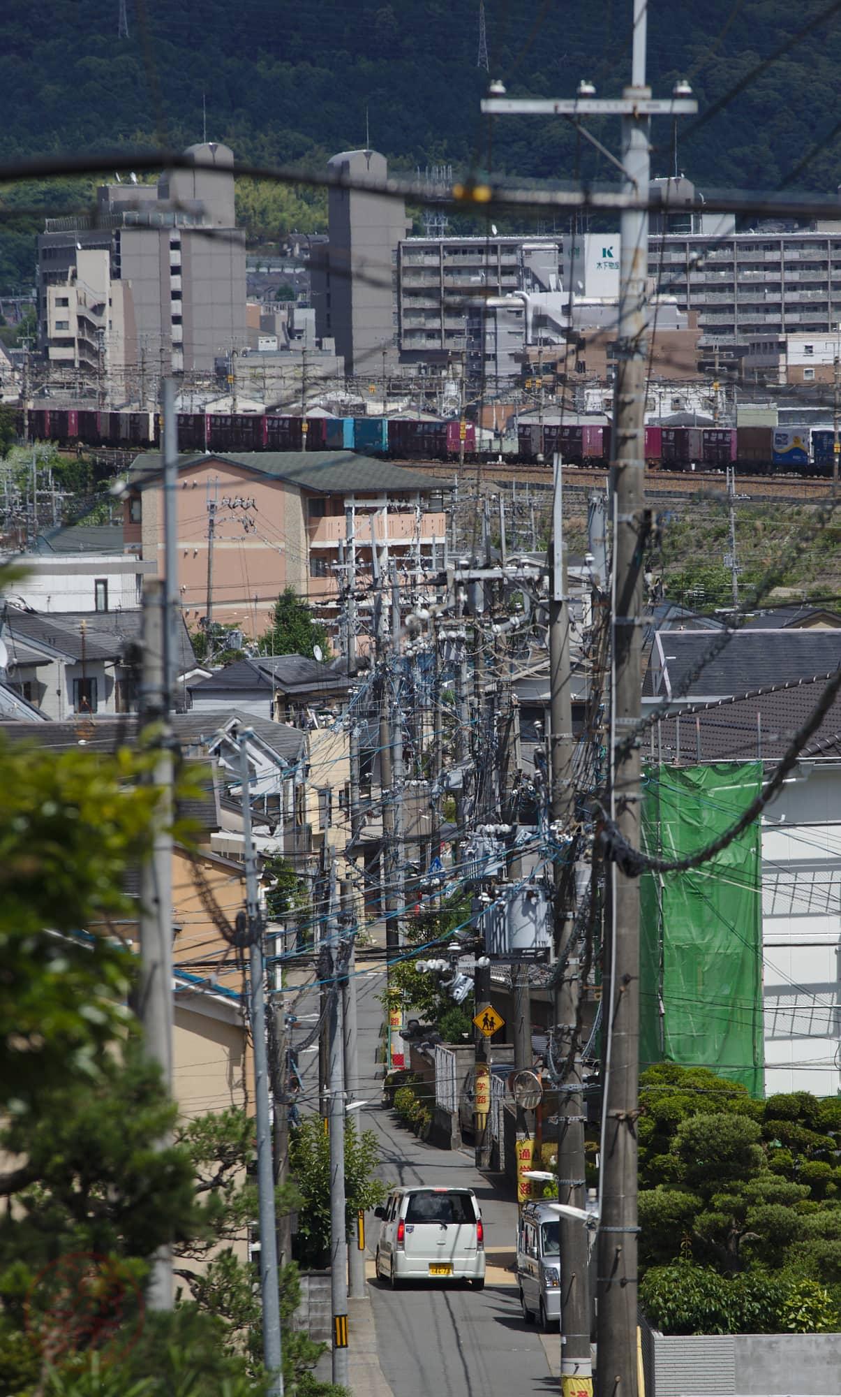 Kiotói utcakép