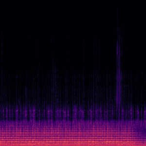 Audio spectogram