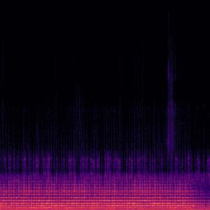 Audio spectogram