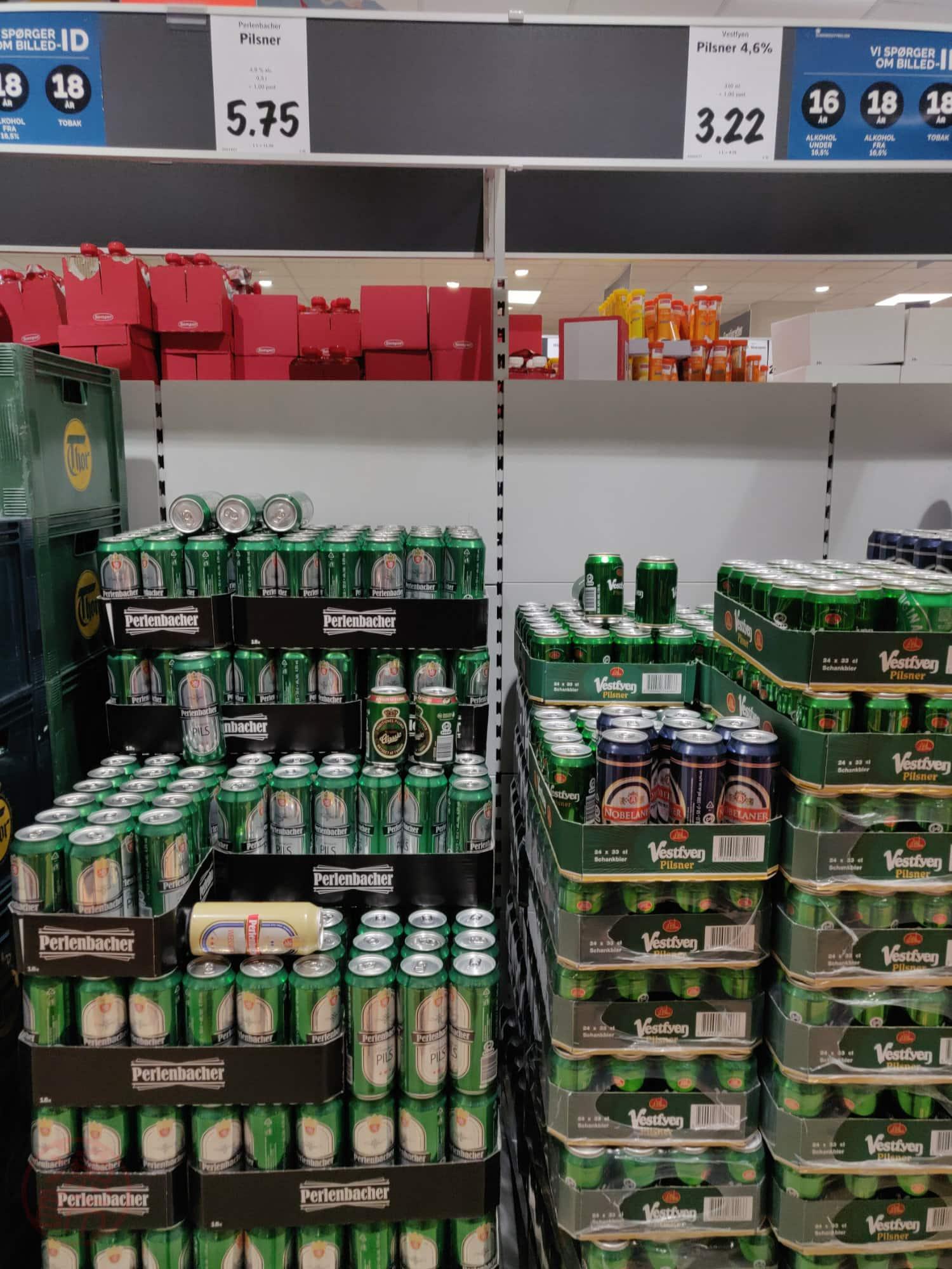 Van olcsóbb sör is